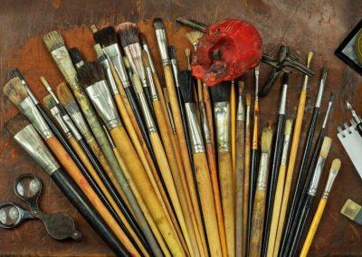 Sommerakademie zwei Tage Malen mit einer Kunsttherapeutin