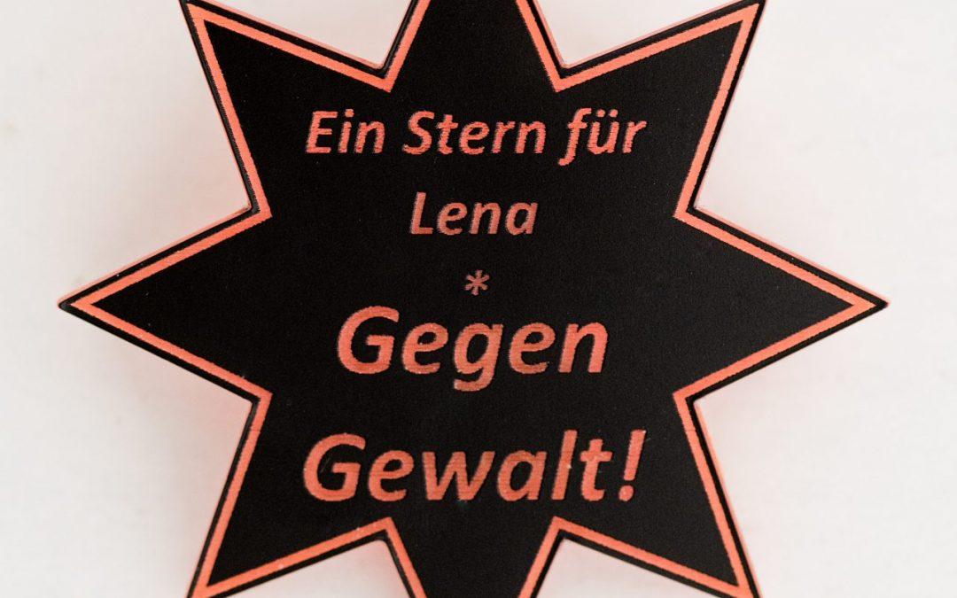 """Deeskalation – """"Ein Stern für Lena* Gegen Gewalt!"""""""